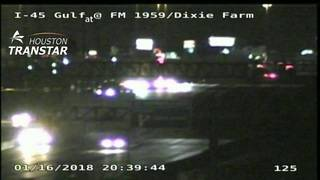 Person struck, killed by vehicle on Gulf Freeway near Dixie Farm Road
