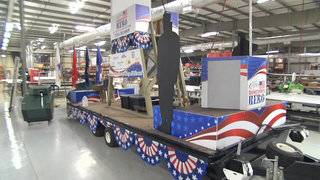 Float uses Veterans Day parade to give back