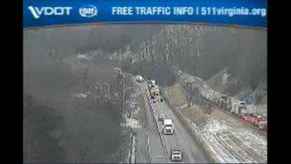 Major backup now clear on I-81 South in Montgomery County