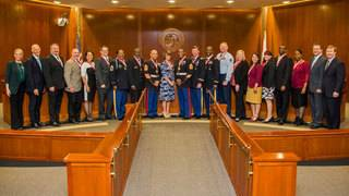 Governor recognizes veterans turned educators with Shine Award