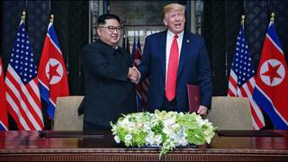 Trump, Kim to meet one-on-one next week