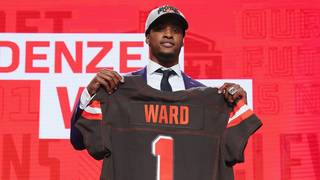 Browns rookie CB to pay mom's mortgage with first check