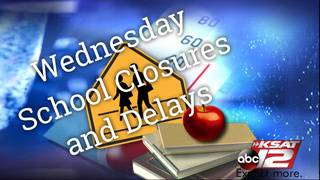 List of San Antonio and area school closures, delays due to ice on&hellip&#x3b;