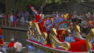 Fiesta events for April 23: Pilgrimage to Alamo, Texas Cavaliers River Parade