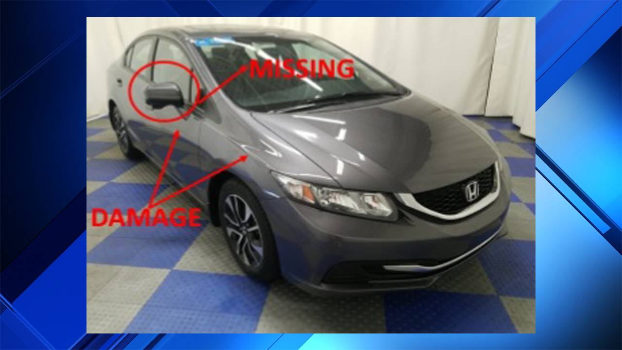Honda Civic similar to one that struck ped in Pompano Beach