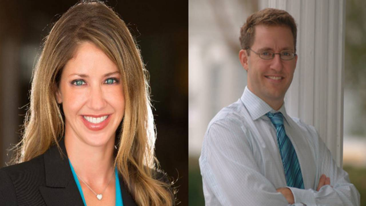 Wendi Adelson and Daniel Markel