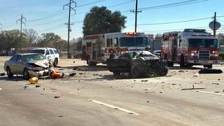 Charges filed against driver arrested in street-racing crash that killed 2