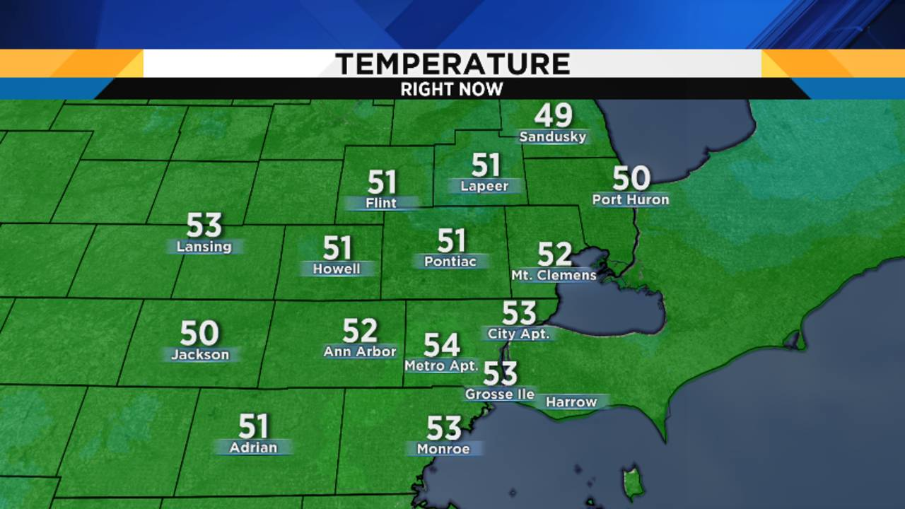 Metro Detroit Weather Forecast Dry Halloween Evening For