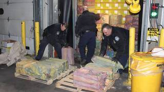Estimated $77 million worth of cocaine seized in bust