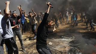 Dozens of Palestinians killed in clashes over US Embassy opening