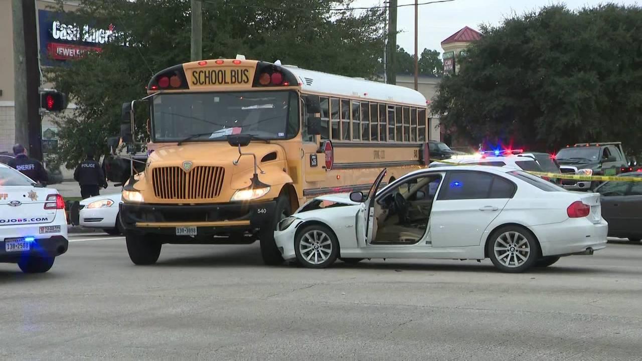 Spring ISD bus crash shooting 1-22-19