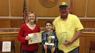 Boy, 10, overcomes odds to win Putnam County Spelling Bee