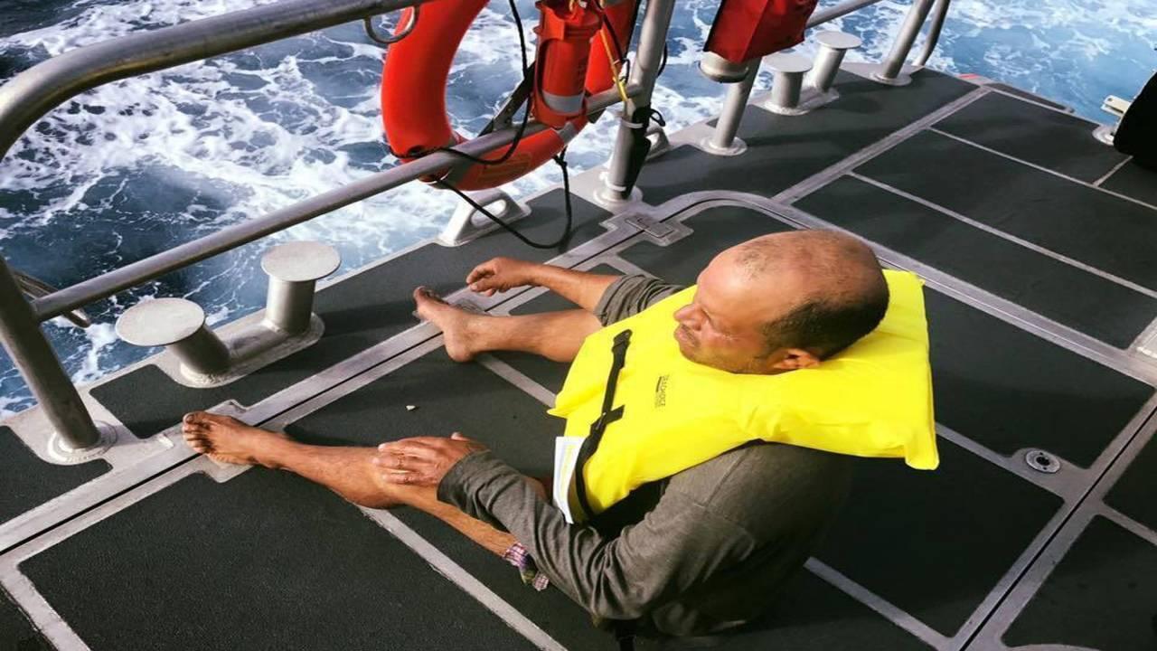 Cuban fisherman rescued by Coast Guard