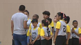 Local program gives kids opportunity to play in front of NCAA Final Four crowd