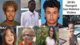 These are 2018's youngest victims of gun violence in Orange County