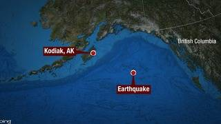 Magnitude 8.2 earthquake rocks Alaskan coast