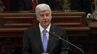 WATCH: Michigan Gov. Rick Snyder's final State of the State Address