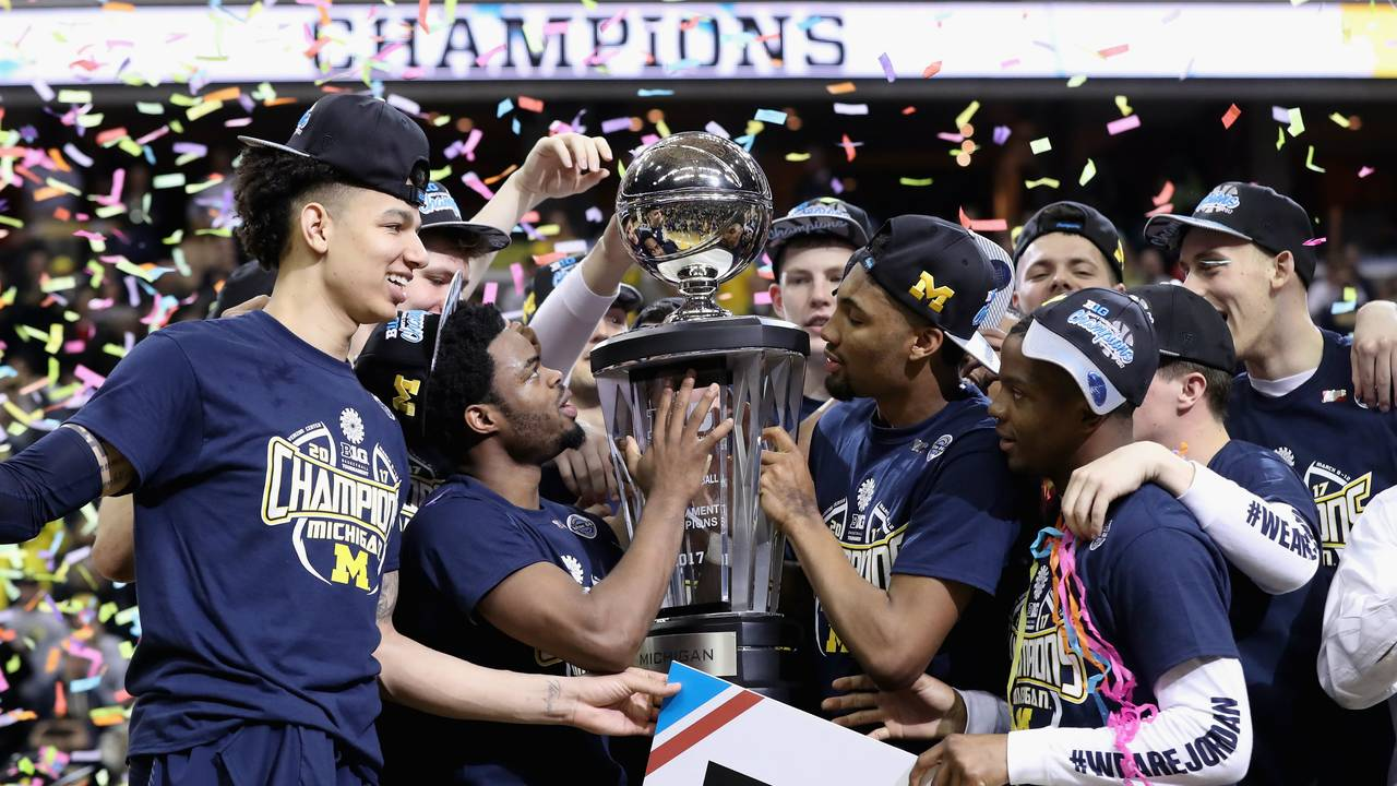 Michigan basketball 2017 Big Ten Tournament champions