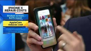 Tech Time: iPhone X repair costs