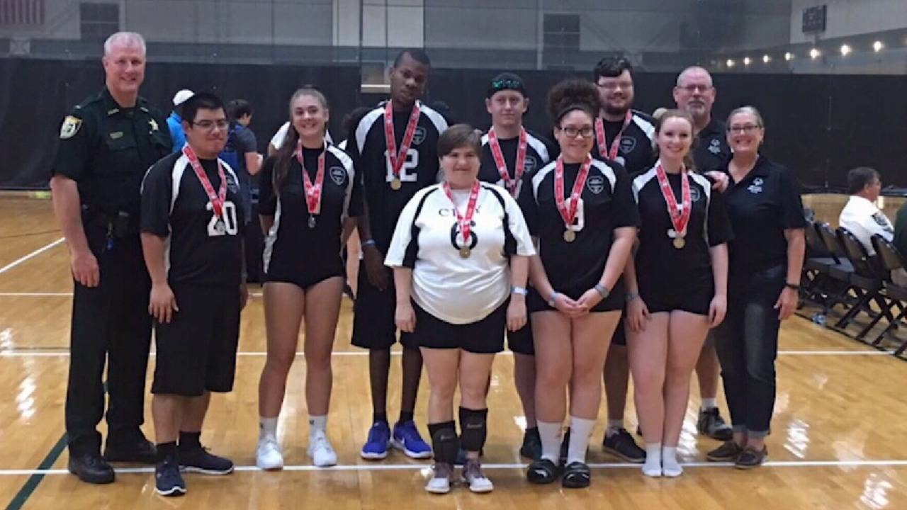 kenneth wagner special olympics photo