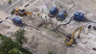Doral lifts boil water advisory for area around massive water main break