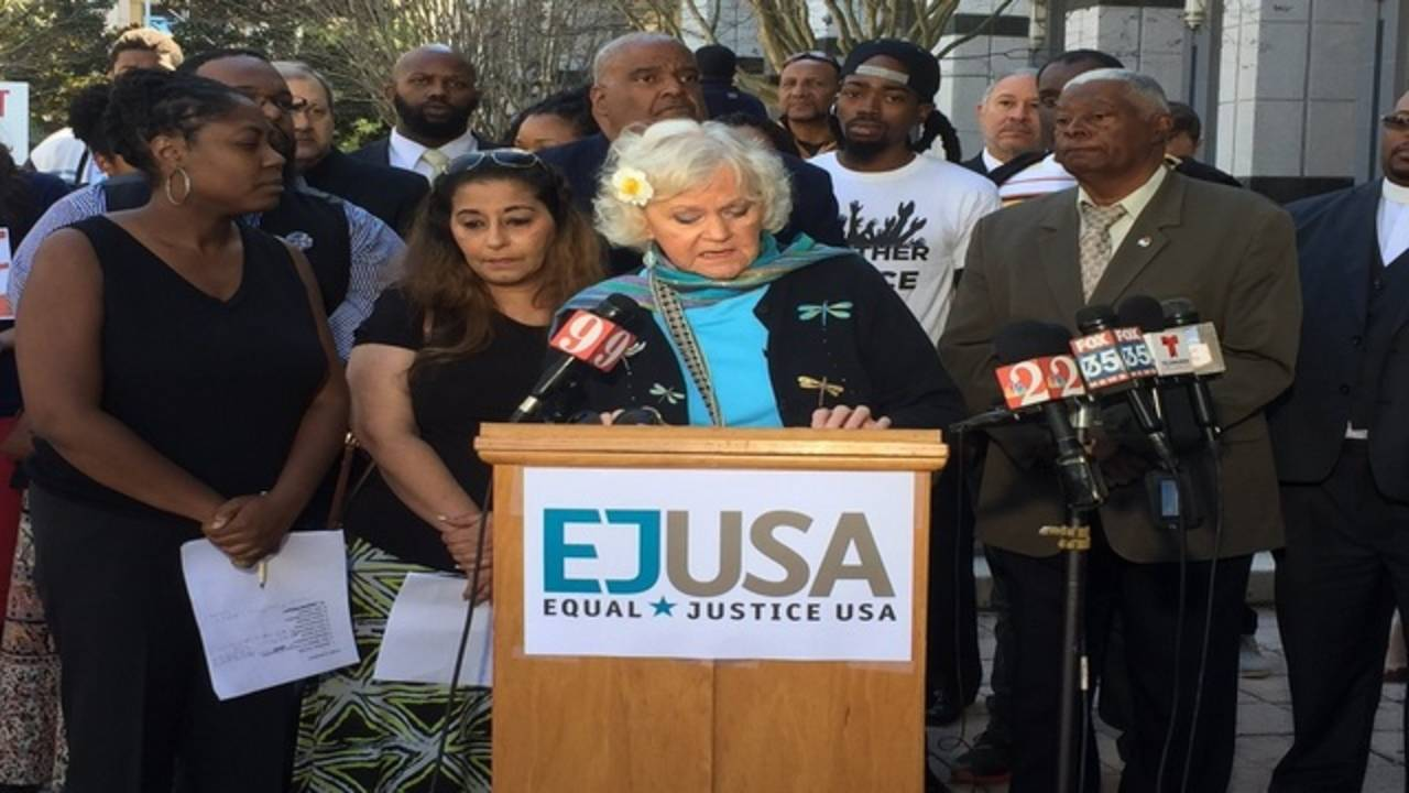 ACLU press conference