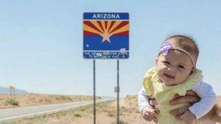 Baby visits all 50 states