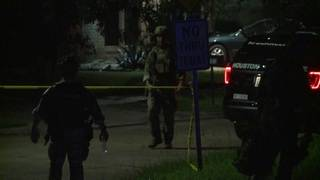 SWAT standoff ends with man in custody at southwest Houston home