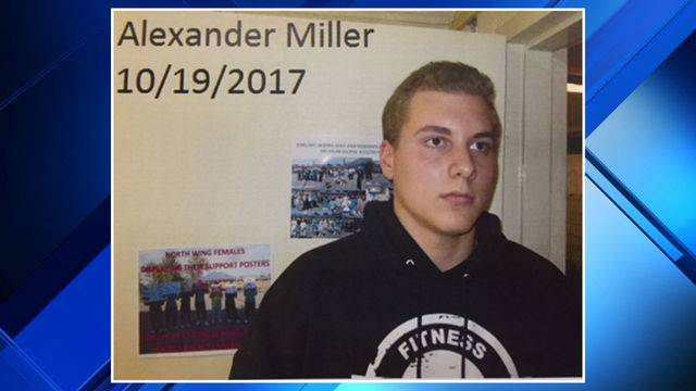 Alexander Miller mugshot
