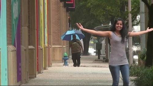 Storms damper outdoor Labor Day plans for Houstonians