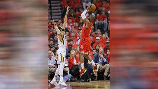 Harden scores 29 as Rockets rout Jazz 122-90 in Game 1