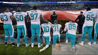 Poll numbers released on NFL players who protest by kneeling