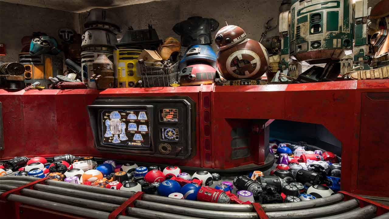 'Star Wars Galaxy's Edge' Droid Depot