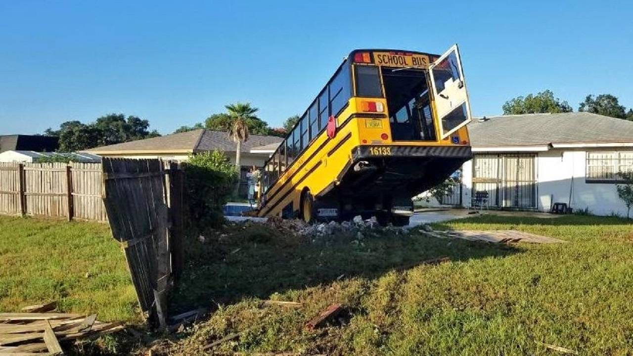 School bus crash 3