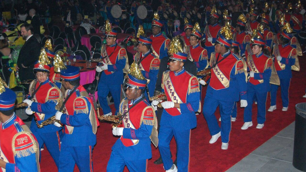 DPS All City Marching Band 2016