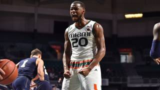 After flirting with NBA draft, Dewan Huell returns to Miami