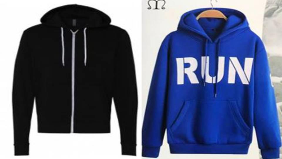 Sweatshirts believed to be worn by Hollywood burglar, rapist