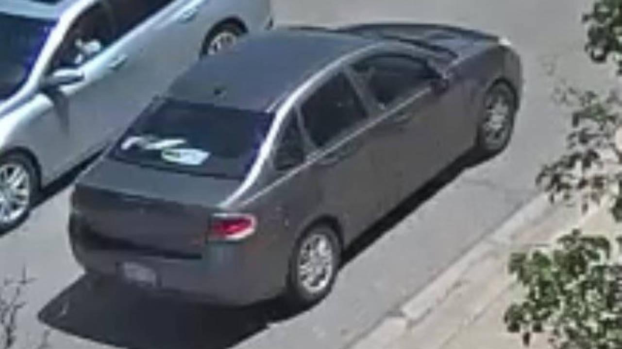 Woodhaven Target credit card fraud suspect car