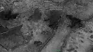 Al-Baghdadi raid images: US troops under fire