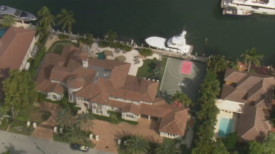Scottie Pippen mansion Sky 10 view