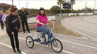 Team of the Week: Bike provided for Special Olympics participant