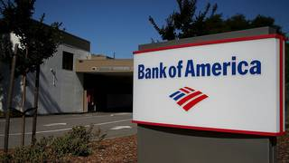 Bank of America has 1,720 fewer branches than in 2008