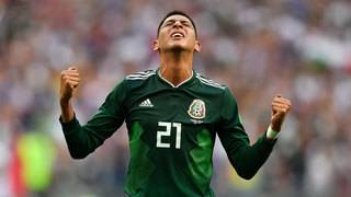 Mexico upsets World Cup champion Germany 1-0