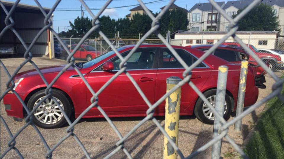 Janeil Bernard's stolen Cadillac_1499177990113.JPG