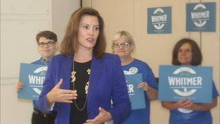 Whitmer campaigning as Michigan gubernatorial candidate who can accomplish most