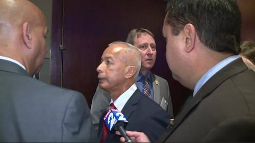 Airport director walks out of interview after questions on lagging billion-dollar project