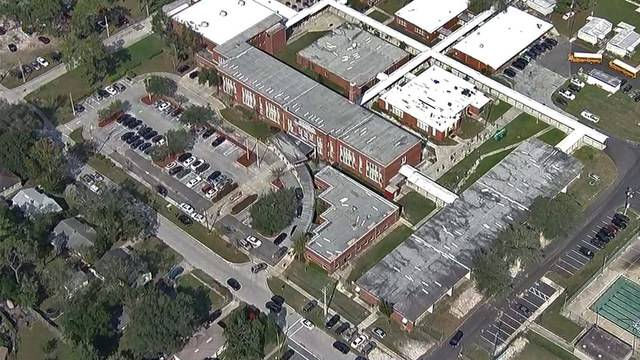 Aerial over Lakeshore Middle School
