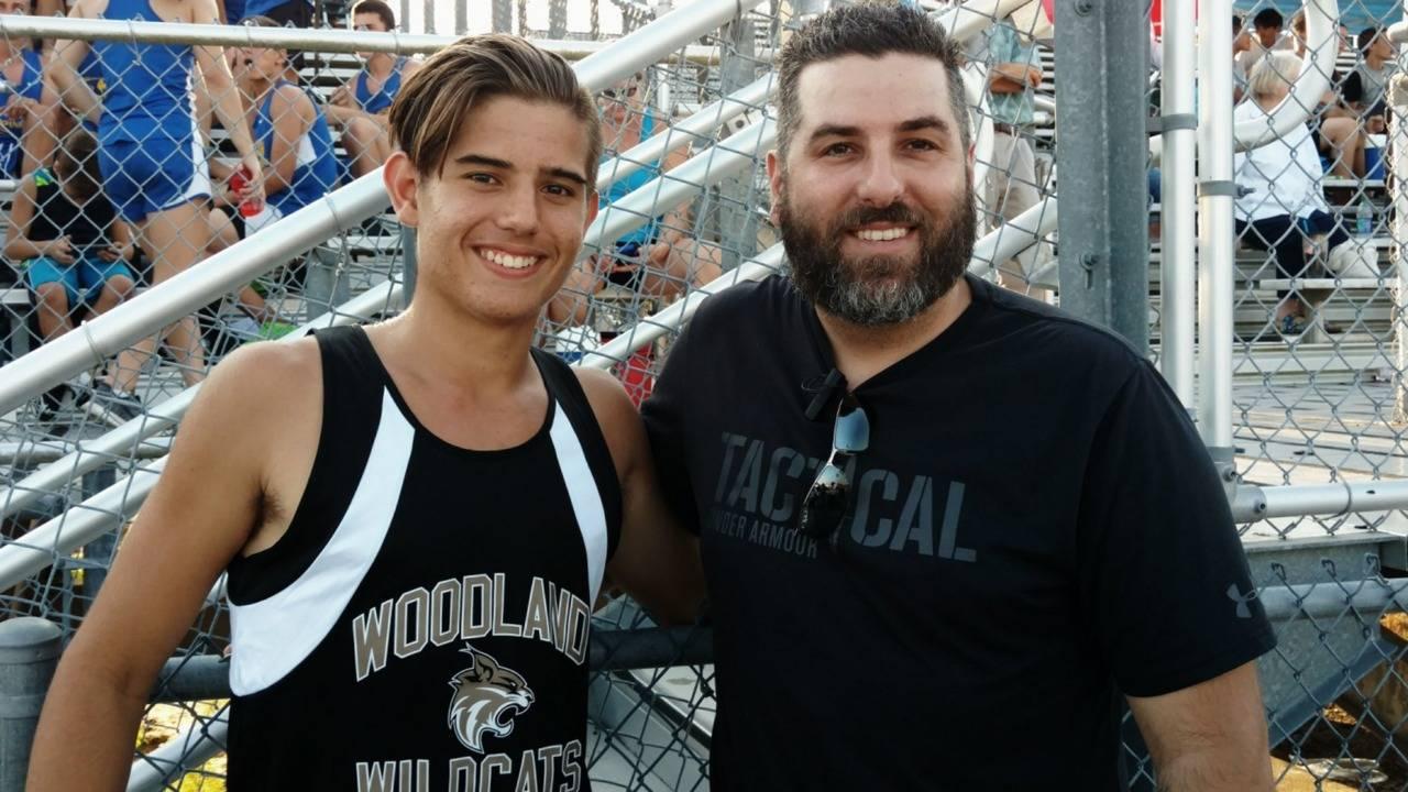 joe with son
