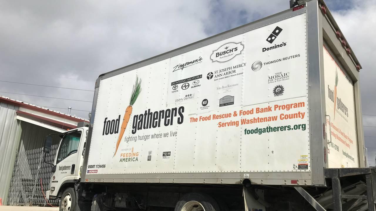 Food Gatherers truck