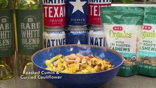 H-E-B Backyard Kitchen: Roasted Cumin & Curried Cauliflower